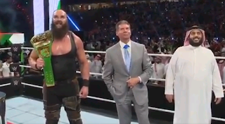 بالصور عرض المصارعة الحرة فى مدينة جدة بالسعودية Royal Rumble - WWE