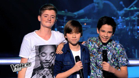 Vidéo Loris, Hugo et Paul reprennent « Paradise » de Coldplay - The Voice Kids - Replay TV