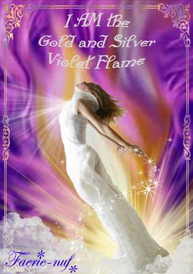 Healing Inspirations: THE GOLD AND SILVER-VIOLET-FLAME