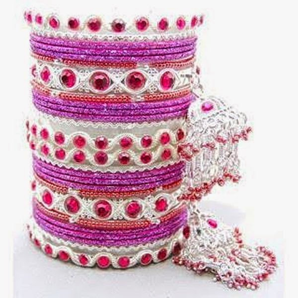 Latest Bangles designs for Eid 2014