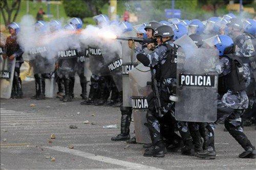 Violencia policial en Honduras supera a la del golpe de Estado de2009