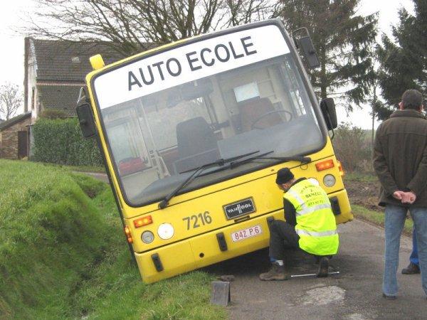 Test pour permis de conduire -TEC - Chauffeur de Bus - Aptitudes de...