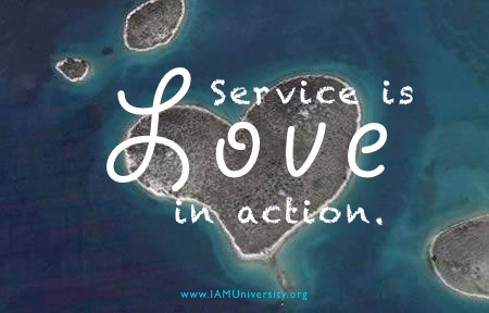 SERVICE IS....
