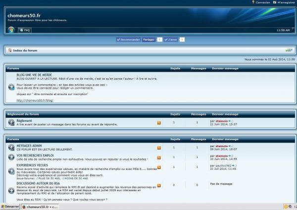 forum pour les chômeurs - Meuse, Lorraine - Chezmatante.fr