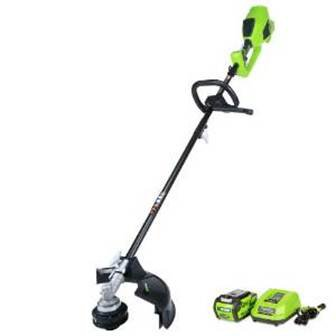 3 top quality GreenWorks weed eater products - Weeds Power Washer and Eater