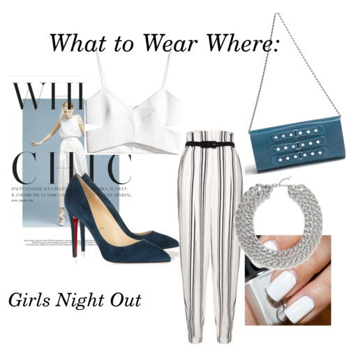 What to Wear Where: Girls Night Out | GIA Luxe