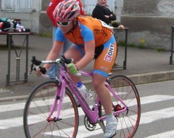 Salies-du-Salat. Alison au championnat de France sur route de l'Avenir