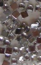 strass,carré,nail art,décoration,ongles,argent,2 mm