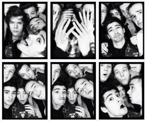 Niall, Zayn, Liam, Louis, Harry ♥