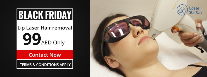 Enhance the Femininity by Taking Lip Laser Hair Removal for 99AED Only