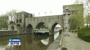 Gérard Depardieu contre la modification du Pont des Trous de Tournai - Vidéo - RTL Vidéos