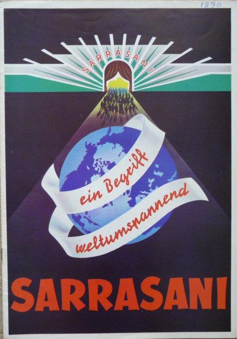 A vendre / On sale / Zu verkaufen / En venta / для продажи :  Programme cirque SARRASANI 1970?