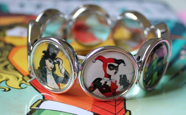 The Ladies Of Comic Books All On One Bracelet