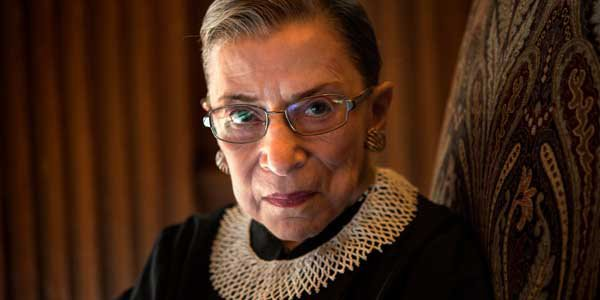 Politically outspoken Ginsburg bemoans politicized courts