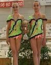 GYMNASTIQUE Deux jeunes Niortaises championnes de zone