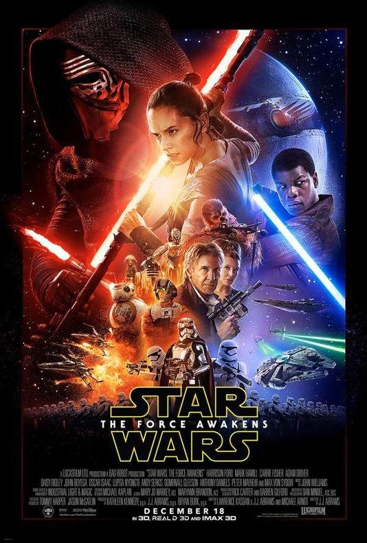 Star wars Episode VII Le réveil de la Force - 2015