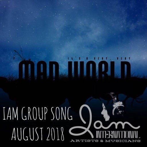 Mad World - slow piano | August group song #IAM #GroupSong
