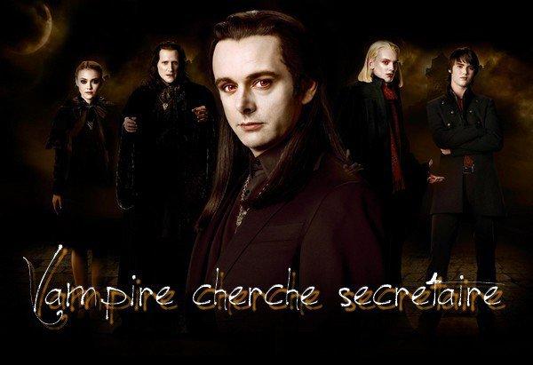 Vampire cherche secrétaire