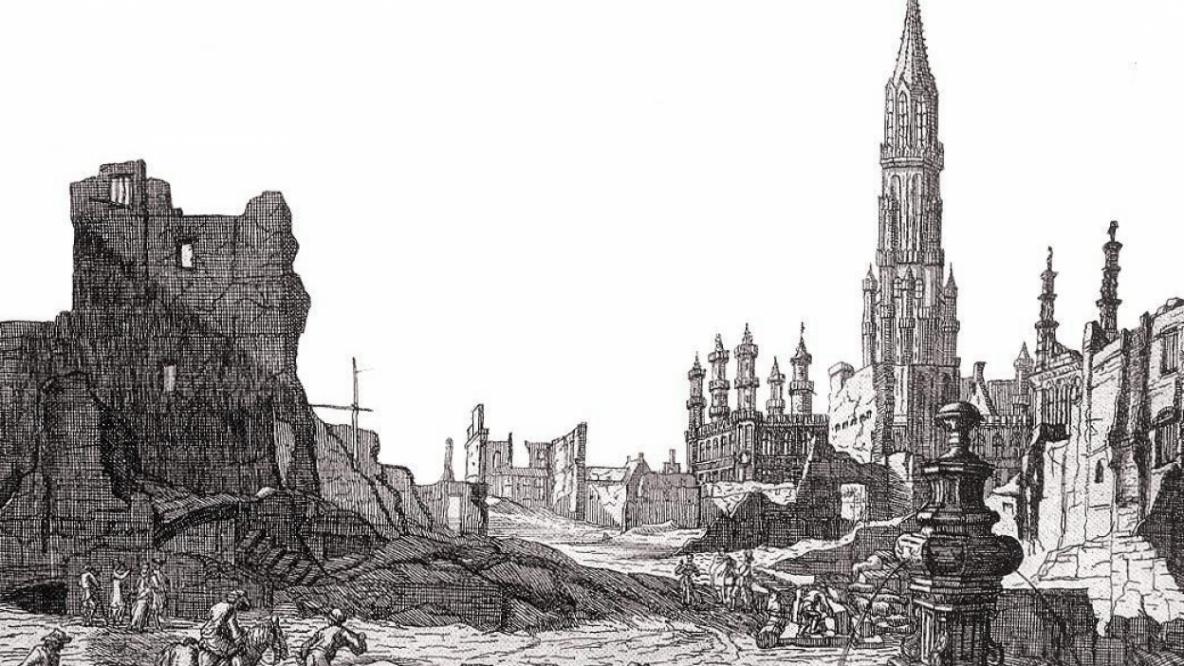 Il y a 320 ans, un tiers de Bruxelles était rayé de la carte par les Français