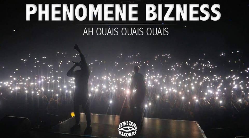 """Découvrez """" Ah ouais ouais ouais """", le nouveau single du Phénomène bizness"""