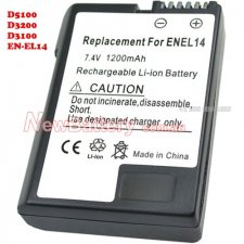 Nikon EN-EL14 Battery 1050mAh Replacement Nikon EN-EL14 Battery 1050mAh