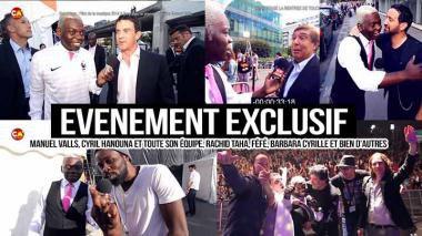 Manuel Valls, Cyril Hanouna, Foucault, Rachid Taha, Féfé, Barbara Cyrille dans Événement Exclusif