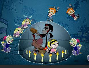 billy and mandy the fright before christmas doraemon games - Billy And Mandy Christmas