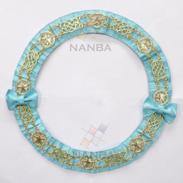 Masonic Chain Collar Round