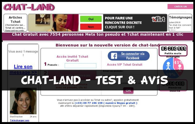 Chat-Land - Test & Avis