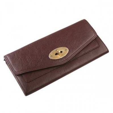 Exclusive Mulberry Women Oversized Postman Lock Contental Purses Brown For Womens Sale