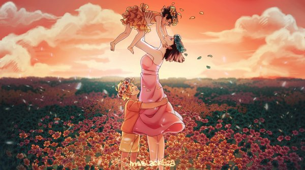 Um bom e feliz Dia das mães et um feliz aniversàrio, Perrick !