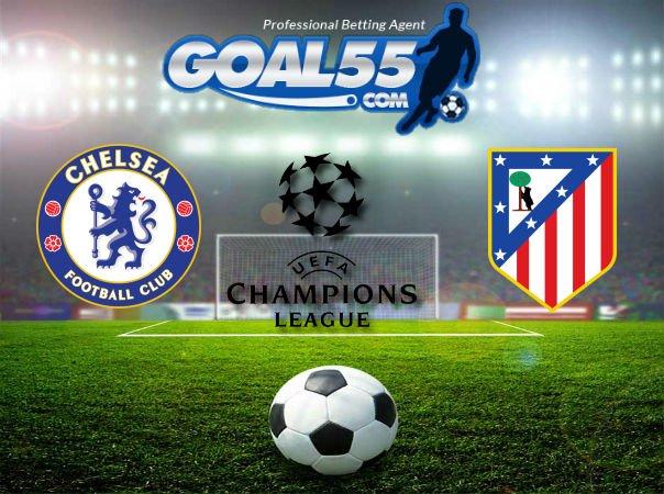 Prediksi Skor Chelsea VS Atletico Madrid 6 Desember 2017