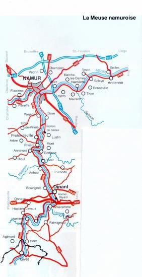 Histoire de la Meuse wallonne
