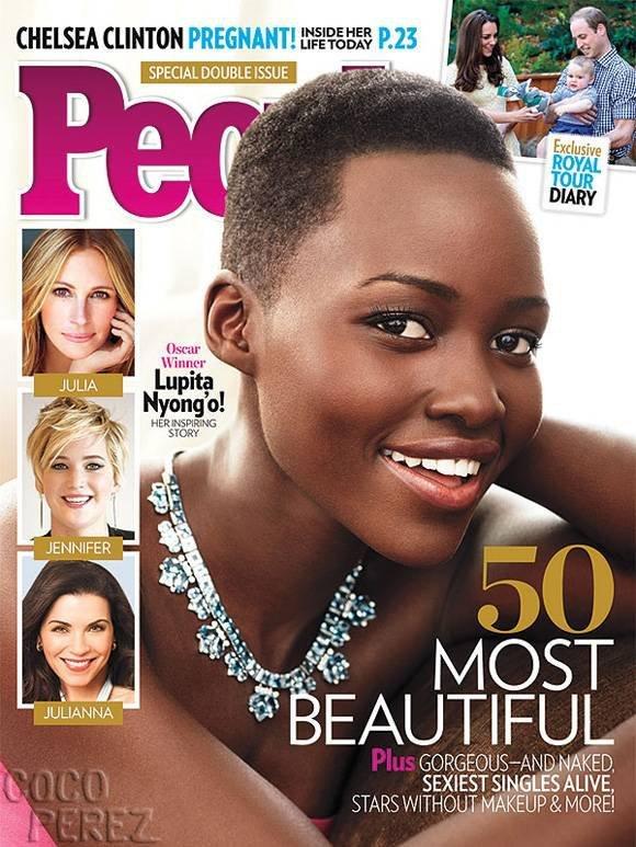 Lupita Nyong'o élue plus belle femme du monde selon le classement du magazine People's 2014