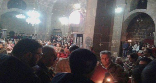 Célébrations des Pâques à Daraa