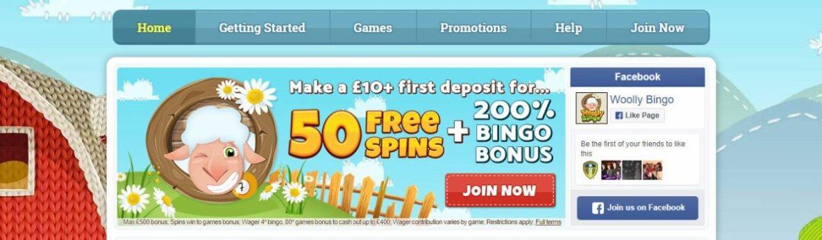 Woolly Bingo | Play Best New Online Bingo and Slots Games