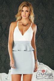Robe Carrara bicolore