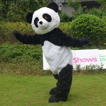 Panda Bear Mascot Costume, Panda mascot costumes for sale, adult Panda Fancy Dress For Halloween and Christmas Party