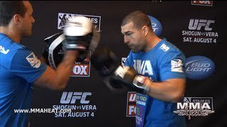 "UFC on FOX 4: Mauricio ""Shogun"" Rua Open Workout (complete + unedited)"