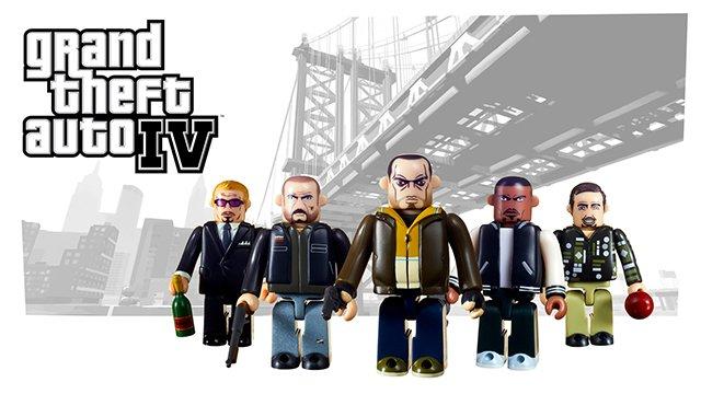 Nouveaux ensembles figurines Kubrick Grand Theft Auto arrivent le 14 septembre