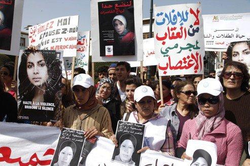 Des Marocaines réclament une réforme de la loi sur le viol