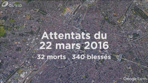 hommage aux victimes des attentats 22 mars 2016