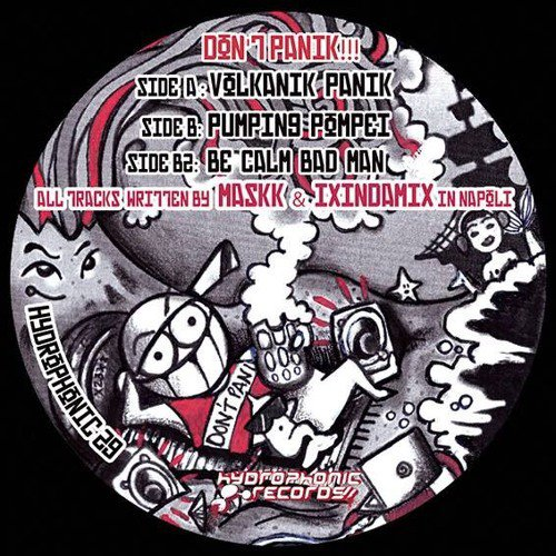 Volcanik Panik E.P - Promomix - Out very soon on Hydrophonic Records !
