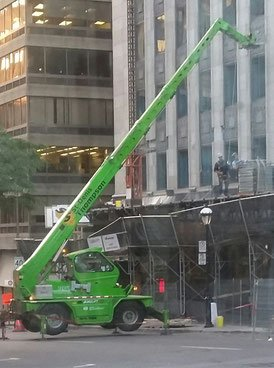 Workplace safety being called into question in Montreal Quebec.