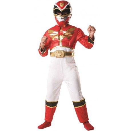 Déguisement Power Rangers Megaforce rouge garçon achat Déguisements