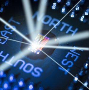 Processador troca elétrons por luz para ficar mais rápido