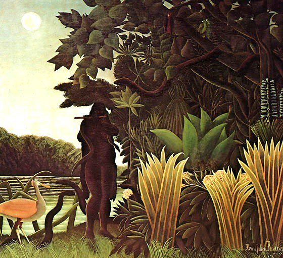 La Charmeuse de serpents (Henri Rousseau)