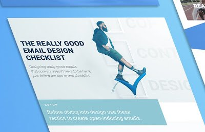just free learn : Design a Successful Email with the Really Good Email Checklist (infographic)