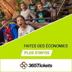 365Tickets : Billets parc d'attraction, Tourisme et Musée