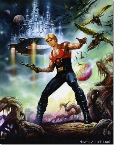 How to Arsenio Lupín: Flash Gordon